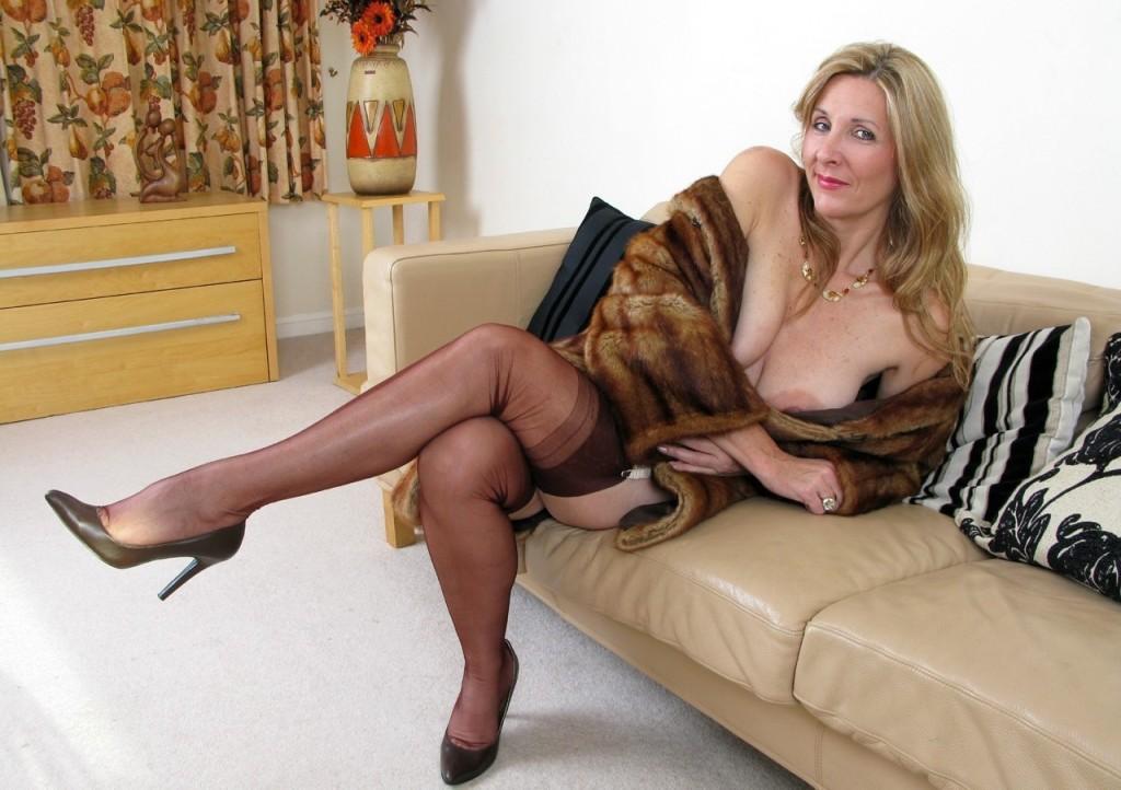 Hot busty blonde
